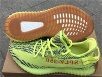 Wholesale Raw Rubber - Boost 350 V2 FROZEN YELLOW Semi-Frozen Yellow Raw Steel Red B37572 BLUE TINT B37571 Zebra Men Women Boosts Shoes Size US5-13 Wholesale