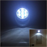 Wholesale indoor cordless lights for sale - Group buy 7 Led Cordless Motion Activated Sensor Light Lamp Degree Rotation Wall Lamps White Porch Lights Indoor Outdoor Lighting