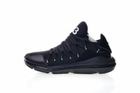 zapato y3 hombres al por mayor-Adidas Zapatillas de correr de calidad superior para hombre Y-3 Kusari Real Negro Blanco Moda y3 Zapatillas Tamaño EUR 40-45
