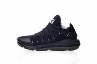 y3 черный оптовых-Высокое качество Y-3 Kusari реальные мужчины кроссовки черный белый мода Y3 кроссовки размер EUR 40-45