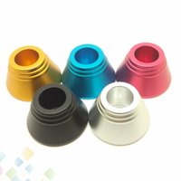 Wholesale metal battery stands resale online - PreHeat Battery Stand Display Metal Base MM Size High quality Metal Holder Fit Preheating Battery Mods Ecig DHL Free