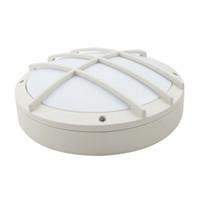 techo ligero de emergencia al por mayor-IP65 lámpara de techo del tabique hermético de la emergencia 180mins 20W 28CM / 11IN 85-265V PF0.9 batería de la batería recargable de aluminio LED industrial impermeable de la pared