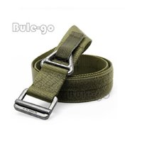 Wholesale rescue strap for sale - Group buy Men s Combat Rescue Rigger Duty Belt Outdoors Nylon Tactical Belt Strap with Metal Buckle