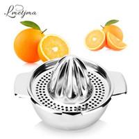 Wholesale orange juicers manual - Lmetjma Stainless Steel Lemon Squeezer Manual Juicer For Orange Lemon Squeezer Reamers Fruit Vegetable Squeezer Cup Kitchen Tool