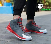 Wholesale anti slip snow shoes online - 2018 new generation basketball shoes couple sports shoes male stars boots wear resistant and anti slip student basketball shoes