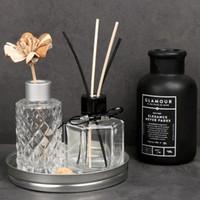vasos de garrafas de perfume venda por atacado-Frasco de perfume de vidro ou vaso para Displayin 2 estilos para decoração de festa em estilo de Nortic