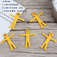 Wholesale rubber face doll - Emoji Dolls Creative Multi Styles Smile Cry Face Toys Novelty Gag Decompression Decoration Folded And Stretchable Hot Sale 0 35sr Z
