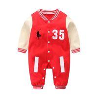 neugeborene gestrickt großhandel-HOT Baby Kleidung gestrickte kurzärmelige Sommer Neugeborene Kleidung 3-18 Monate Baby Kleidung Set Baumwolle% Neugeborenen Strampler COCO