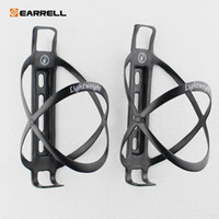 Wholesale black carbon water bottle cages resale online - 2017newest carbon bottle cage K glossy bike bicycle water bottle holder bicycling bidon cycling portabidon bicycle accessories