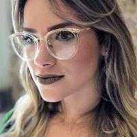 bc6e3b1e67d CCSPACE Ladies Round Glasses Frames For Women GORGEOUS Celebrity Brand  Designer Optical EyeGlasses Fashion Eyewear 45162