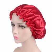 Wholesale shower domes for sale - Group buy Jacquard Weave Shower Cap Satin Warp Bathing Hats Knitting Dome Hair Cover Adults Caps With Multicolor No Eaves yd jj