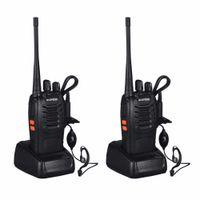 dualband vhf uhf handheld groihandel-Baofeng BF-888S Walkie Talkie 5W Handfunkgerät bf 888s UHF 400-470MHz Frequenz tragbare CB Radio Communicator