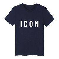 ingrosso magliette a marchio in vendita-T-shirt a maniche corte in cotone Hip Hop T-shirt manica corta in cotone con stampa icona Hip Hop T-shirt manica corta 3xl
