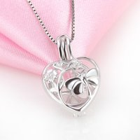 pearl good free stock cages product necklace for pendants wish jewelry gift oyster silver love wholesale pendant butterfly diy lockets in women ship