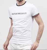 Wholesale funny jerseys - 2018 Top quality Men's funny tee cute t shirts Brand LOGO Embroidery men short sleeves cotton tops cool tshirt summer jersey costume t-shirt