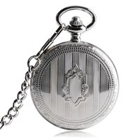 мужская механическая цепочка для часов оптовых-TOP Sales Silver Steampunk Skeleton Automatic Mechanical Pocket Watch with Chain Erkek Kol Saati Watches Men Unisex Gifts Clock
