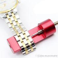 Wholesale alloy repair kit - Metal Adjustable Watch Band Strap Bracelet Link Pin Remover Repair Tool Kit Sets Aluminium alloy Repair Tools