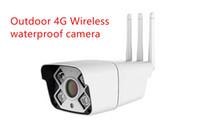 ip kamera gsm toptan satış-Full HD 1080 P HD Bullet IP Kamera Kablosuz GSM 3G 4G SIM Kart IP Kamera Wifi Açık Su Geçirmez cctv Kamera IR Gece Görüş P2P