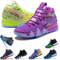 Wholesale New Kyrie Irving Basketball Shoes Men Irving s Gold Championship MVP Finals Sports training Sneakers Running Shoes