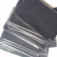 925 Silver Polishing Cloth plastic bags for Pearl Golden Jewelry Rings necessity Quality 4*8cm