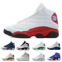 finest selection 85c07 b1219 Top qualité pas cher nouvelle 13 Jumpman 13s chaussures de basket-ball pour  hommes baskets femmes formateurs de sport chaussures de course pour hommes  ...