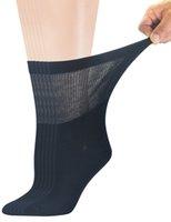 calcetines sin costura al por mayor-Calcetines de tripulación de bambú diabético para mujer con punta del pie sin costura, 6 pares de talla 9-11