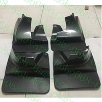 Wholesale cars mud guards resale online - 4X Car Front and Rear Mud Flaps Splash Guards Trims For Toyota Land Cruiser Prado FJ120