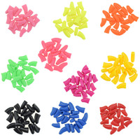 Wholesale Nail Caps Claws Cat - 20 PCS Soft Nail Caps Nail Covers Claw Caps Paw Covers for Cat Pet Kitten Dog With Glue Claws Control Paws Off