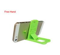 tischplatten-tischständer großhandel-Lazy Desktop Handy Stand Tablet Stand Candy Farbe Kunststoff Handy steht für Smartphone 5 Farben