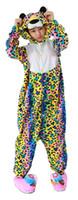 Wholesale fancy pajamas - Unisex Adult Leopard Pajamas Animals Onesie Cosplay Costumes Fancy Dress