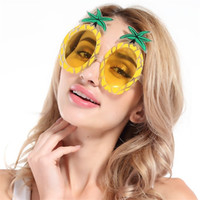 Wholesale event cosplay for sale - Hawaii Beach Pineapple Eyeglasses Creative Funny Glasses For Cosplay Christmas Wedding Decoration Event Party Supplies sf C