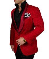 Wholesale Navy Costumes For Men - Latest Coat Pant Designs 2018 Costume Homme Burgundy Tuxedo Jacket Black Pant Slim Fit Wedding Suits For Men Groomsman Suit
