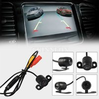 Wholesale DHL CCD HD Wide Angle CMOS Car Rearview Cam Backup Reverse Parking Camera NTSC