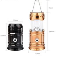 carregador grátis china venda por atacado-Melhor venda de carregador solar alimentado lanterna de acampamento lâmpada made in china frete grátis