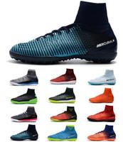 männer s fußball stiefel großhandel-Nike Cristiano Ronaldo Mercurial Superfly SX Neymar TF Männer Fußballschuhe Footabll Schuhe Herren Fußballschuhe ACC Soccer Cleats
