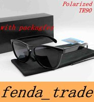 Wholesale Frog Cats - with packages Polarized Sunglasses Hot sale Frog style kins mirror TR90 Frame cycling sunglasses sports 10 colors HOT freeshipping MOQ=10pcs