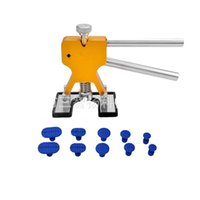 Wholesale repair car dents online - Car Repair Hand Tools Practical Hardware Practical Dent Lifter Puller Tabs Hail Removal Tool Set sz Ww