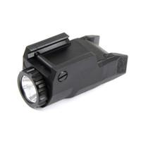led constante venda por atacado-Tactical Compact APL Luz Constante / Momentária / Strobe Lanterna APL-C LED Branco Luz Preto