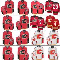 Wholesale jarome iginla jersey - Calgary Flames Hockey Jerseys Ice 5 Mark Giordano 13 Johnny Gaudreau 23 Sean Monahan 12 Jarome Iginla 7 TJ Brodie stitched S-3XL