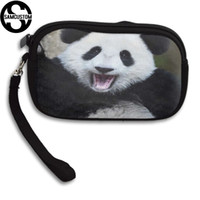 ingrosso panda borsa della moneta carina-SAMCUSTOM Custom cute panda 3D Print New Piccola borsa da donna e da uomo Piccola borsa Fashion Casual Girl Coin Purse