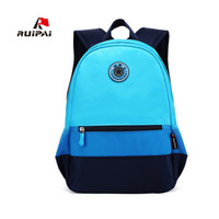 Wholesale Children S Backpacks Baby - Ruipai School Bags Fashion Backpacks for Girls and Boys Schoolbag Backpack Mochila Children Kids Baby 'S Bags Size Optional Backpack