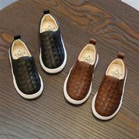8c8e78c8ad9fd Bébé Enfants Chaussures Enfants Sneakers Mode Automne Pu Cuir Supérieur En  Cuir Loisirs Chaussures En Cuir Confort Doux Semelles Douces Enfants  Treillis ...