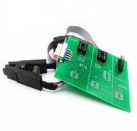 Wholesale upa adapters - Super Eeprom Adapter for UPA USB 1.3 UPA-USB UUSP with 8 soic clip for xprog work perfect