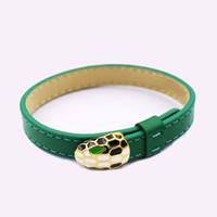 ingrosso venditore di braccialetto-Commercio estero all'ingrosso best-seller accessori serpente Moda bracciale in acciaio al titanio gioielli braccialetto semplice testa di serpente single-circle
