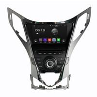 Wholesale hyundai azera - Octa core 4GM RAM 8inch Andriod 6.0 Car DVD player for HYUNDAI AZERA Grandeur with GPS,Steering Wheel Control,Bluetooth,Radio