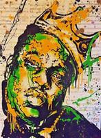 Wholesale big canvas art prints resale online - Alec Monopoly Handpainted HD Print Banksy Graffiti Pop Art Oil Painting Notorios BIG on Canvas Wall Art office culture Multi Sizes g228