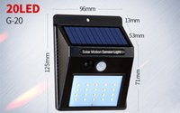 Wholesale Solar light outdoor garden light super bright human body induction household led indoor wall lamp street light