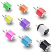 adaptateur secteur mural samsung achat en gros de-Haute Qualité Doigt US Plug USB Chargeur secteur AC 5V 1A Adaptateur mural pour iPhone pour Samsung pour tablettes
