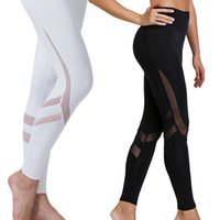 ropa sexy para mujer xs al por mayor-Blanco Negro Para Mujer Leggings Ropa Sexy Fitness Legging Entrenamiento Mujer Leggins Pantalones Para Mujer Negro Mujer Leggins Pantalones