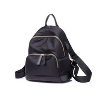 Wholesale School Girl Korea - High Quality Oxford Backpack Women Small Bagpack 2018 New Korea Fashion Travel Rucksack School Bags for Teenage Girls Casual Back Pack Bag